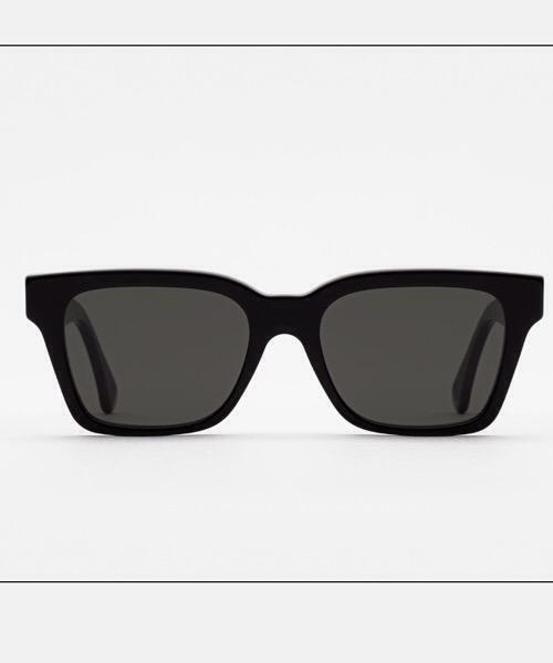 Super America Black  Retrosuperfuture Occhiali da Sole Unisex